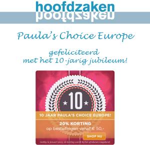 Paula's Choice Jubileum