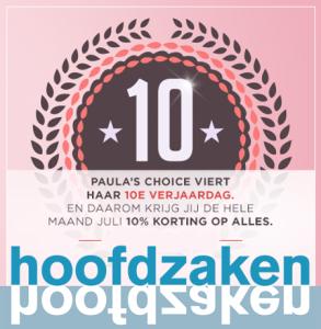 Paula's Choice 10 jaar