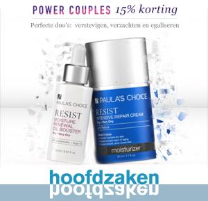 Korting op Paula's Choice Power Couples bij Hoofdzaken