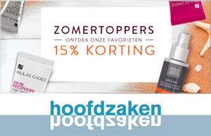 Korting op Paula's Choice producten bij Hoofdzaken Ypenburg